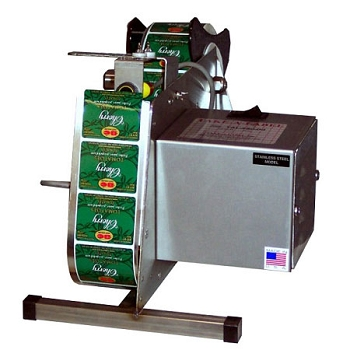 Take-A-Label - TAL450SS 4 1/2 inch Stainless Steel Label Dispenser w/Photo Eye