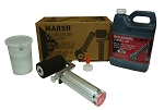 Marsh Refillable Fountain Roller Kit with Rolmark Ink