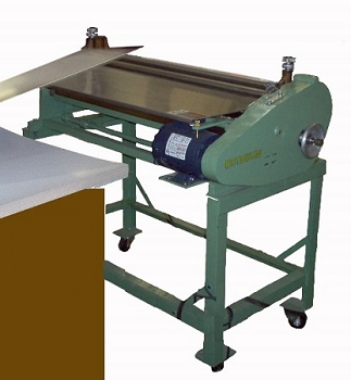 46 inch Type Z Potdevin Gluer - Includes Stand