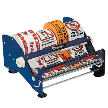 SL9512 12 inch Multi-Roll Tape & Label Dispenser
