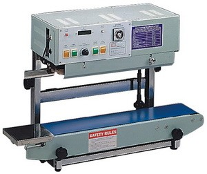 AIE-B6202 - Deluxe Vertical Continuous Band Sealer