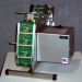 TAL750HDSS 7 1/2 inch Stainless Steel Label Dispenser w/Photo Ey